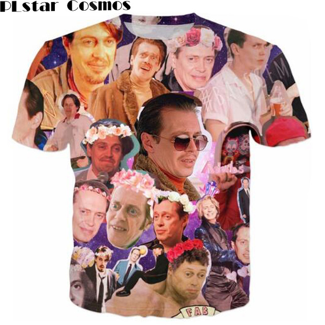 Plstar Cosmos Thirts Steve Buscemi Galaxy Collage T Shirt Outfits