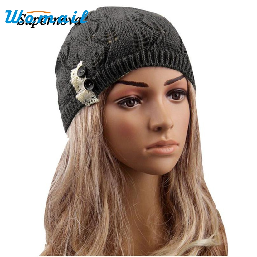 Hot Skullies Beanies Winter Hat Hollow Out Caps For Women Girl Vintage Warm Spring Autumn Hat Female WOct4 Drop Shipping hot skullies beanies winter hat pom pom caps unicorn letter for women girl vintage warm spring autumn hat female woct4