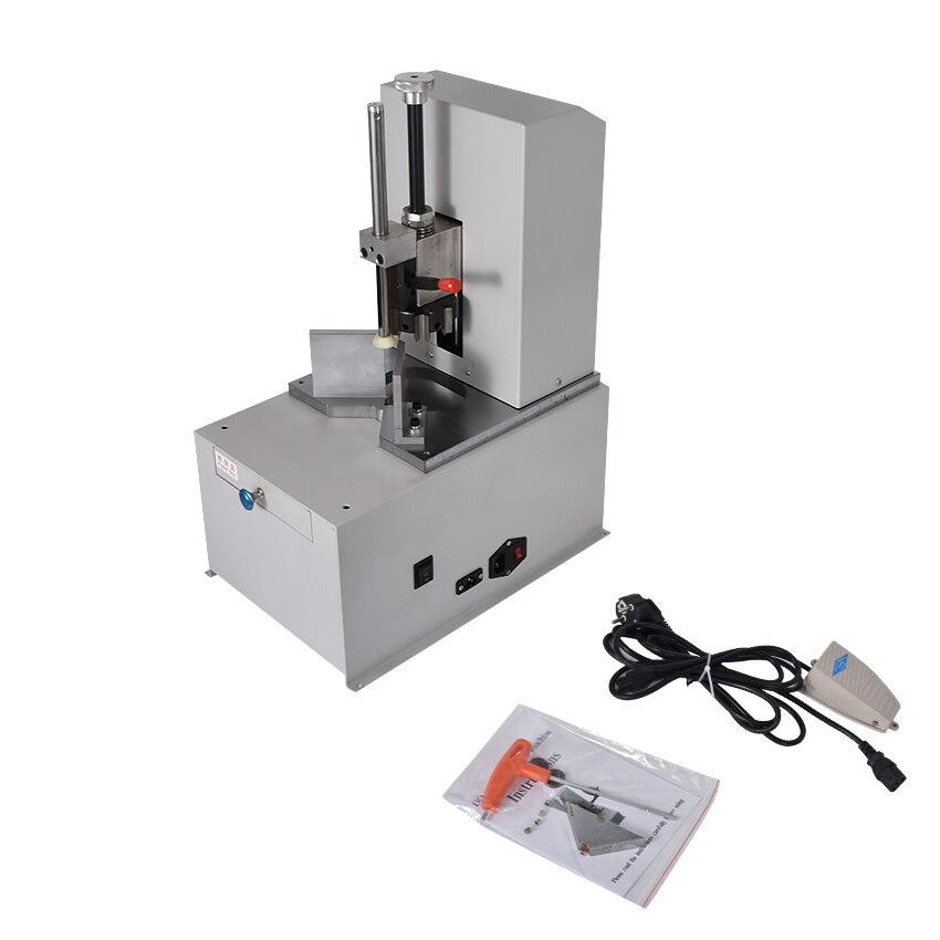 Coin rond électrique Machine 220V filet automatique coupe papier Machine R3 9 couteau bureau à domicile vitesse 1400r/min nouveau véritable - 6