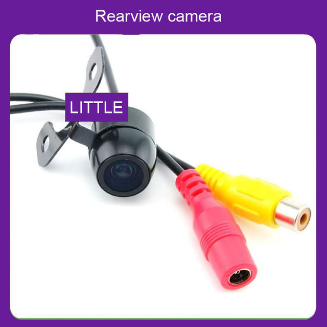 Car Accessories Parking Assistance mini car camera waterproof Rear view back up ccd hd camera  parking camera Free shipping