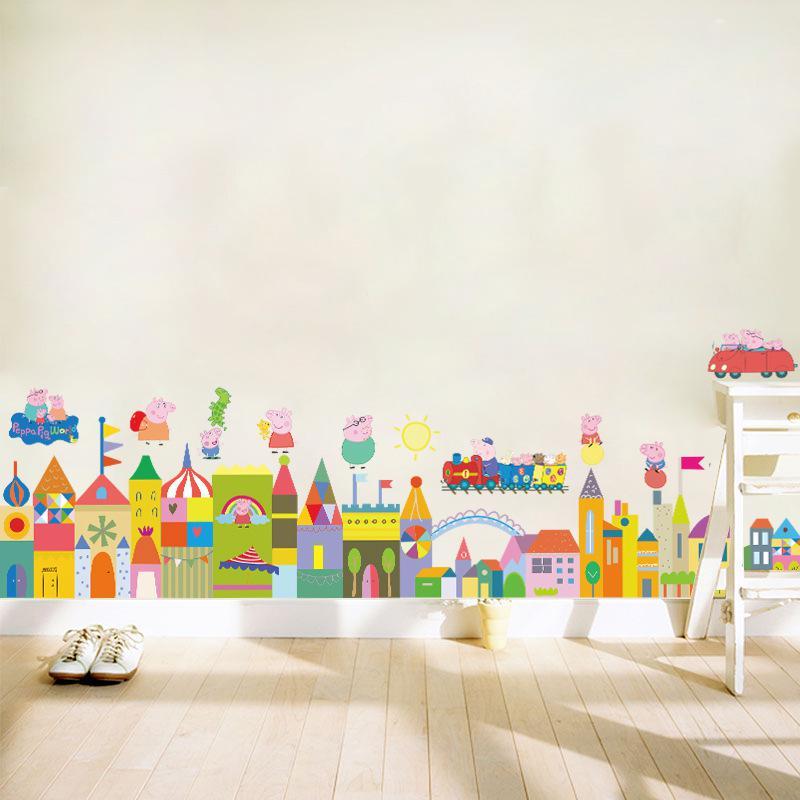 Diy Colorful Rooms: Aliexpress.com : Buy Diy Cartoon Colorful Castle House