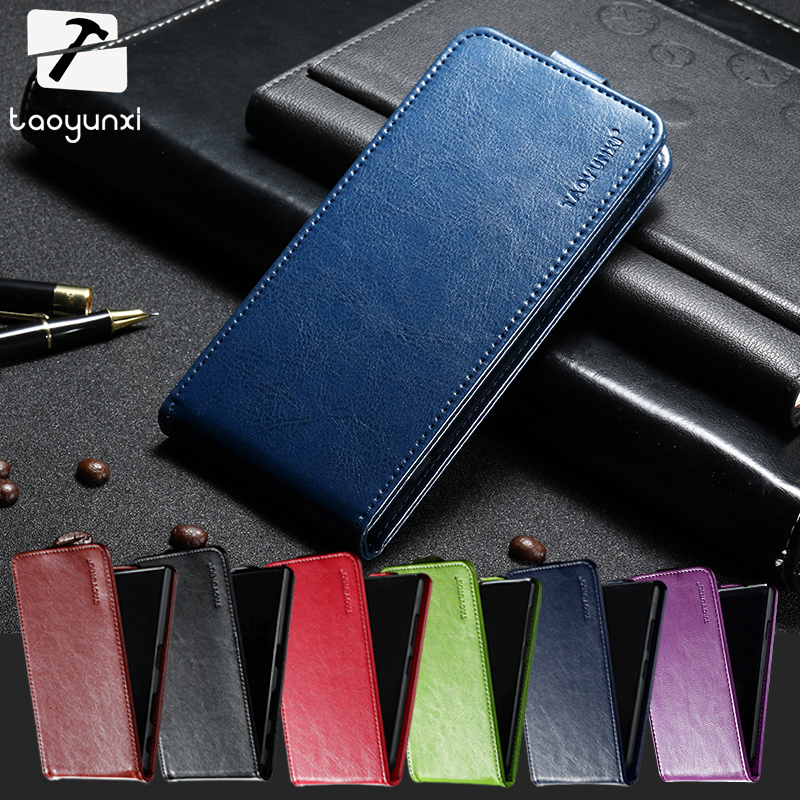 TAOYUNXI Cover For Fly IQ4416 Fly quad Era Life 5 IQ 4416 life5 4.5 inch For Fly IQ4416 Covers Luxury Flip PU Leather Phone Bags