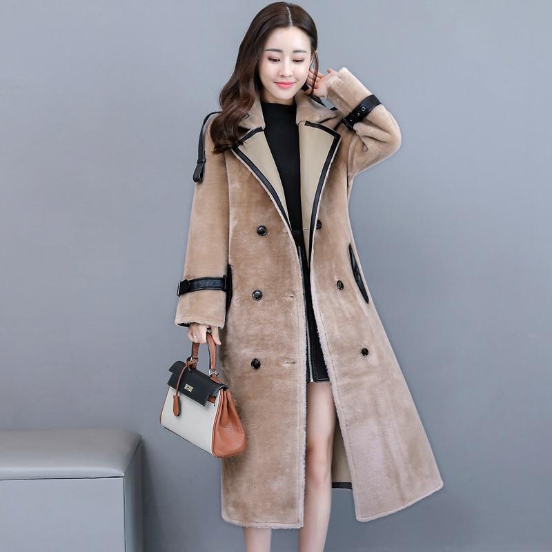 Faux-Fur-Coat-Women-Long-Suede-Sheepskin-Coat-Winter-Outerwear-Autumn-Casual-Overcoat-With-Belt-Double (2)