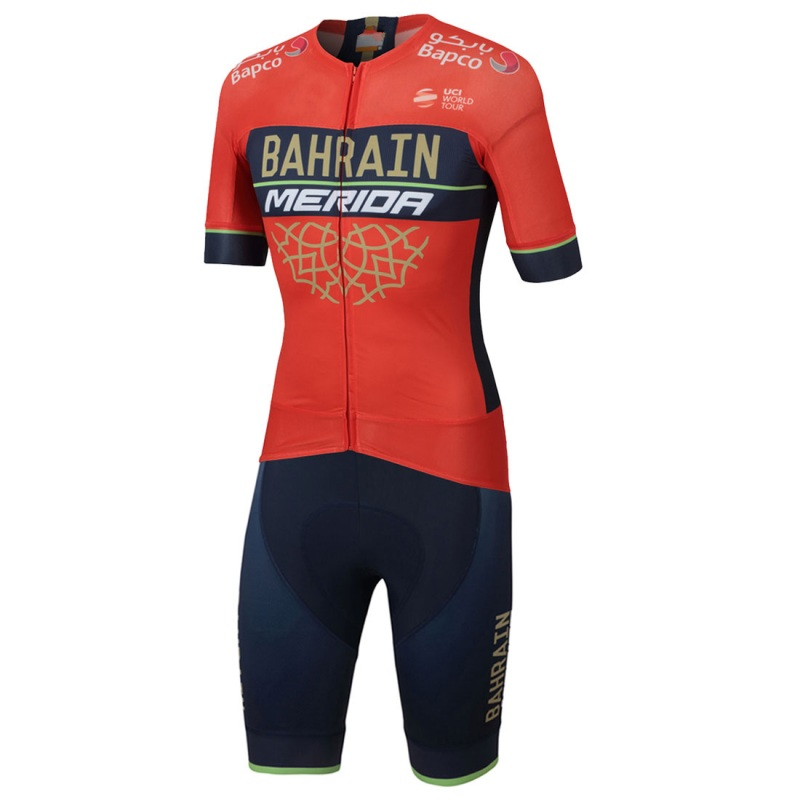 2018 new pro team bahrain aero Cycling skinsuit Short sleeve summer bodysuit bike clothing MTB Ropa Ciclismo speedsuit jerseys new team teleyi cycling jerseys 2017 short sleeves summer breathable cycling clothing pro mtb bike jerseys ropa ciclismo