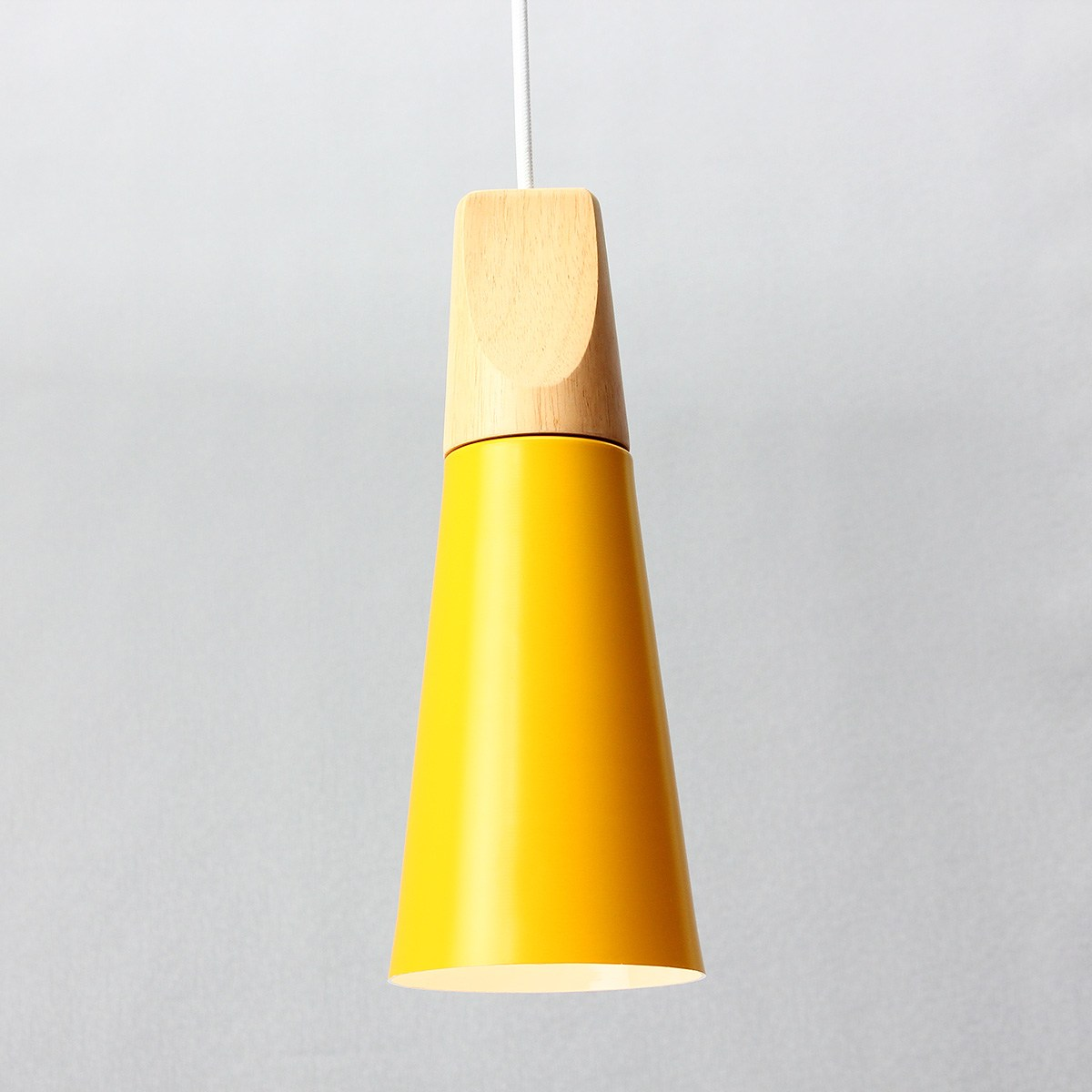 E27 Modern Wood Pendant Ceiling Hanging Lamp One Meter Adjustable ...