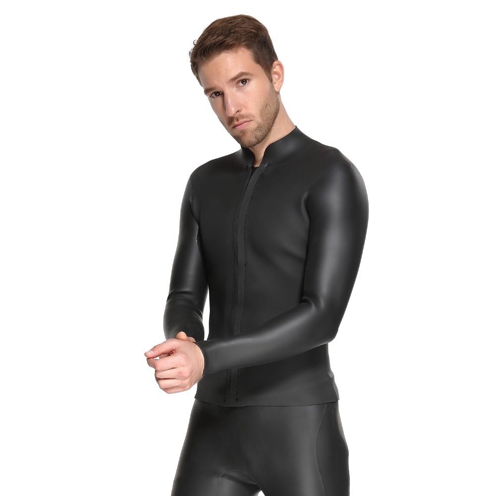 SBART 3mm néoprène plongée sous-marine costume veste planche à voile maillots de bain nautique plongée en apnée élastique chaud CR veste légère hauts combinaison