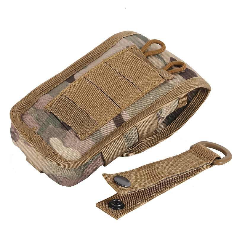 ทหารยุทธวิธี Camo กระเป๋าเข็มขัดแพ็คกระเป๋า MOLLE POUCH เข็มขัด Camp เอว Fanny กระเป๋า