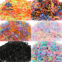 Gum Tie Hair-Accessories Rubber-Bands Baby-Hair-Holders Braids Elastics Girl's Child