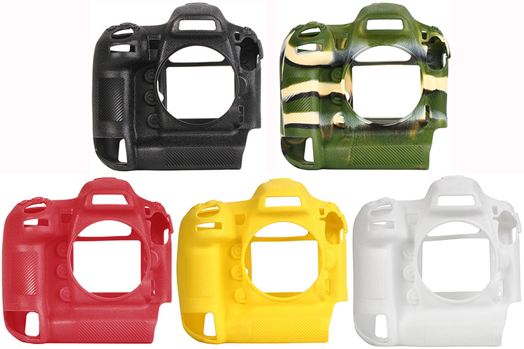 Lightweight Camera Bag Case Protective Cover for NIKON D5 Black Camouflage yellow red colour