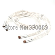 Free shipping one pair Argento the Flow Hi Fi audio cable XLR audio interconnect balance Cable