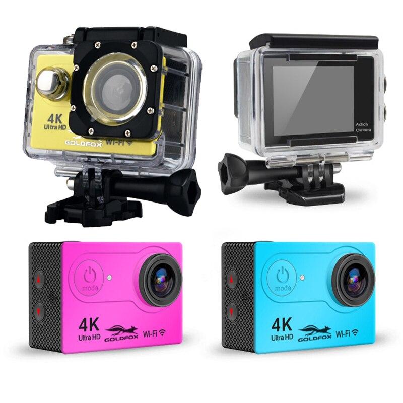 100% новая H9 Экшн-камера Ultra HD 4 K/25fps WiFi 2,0