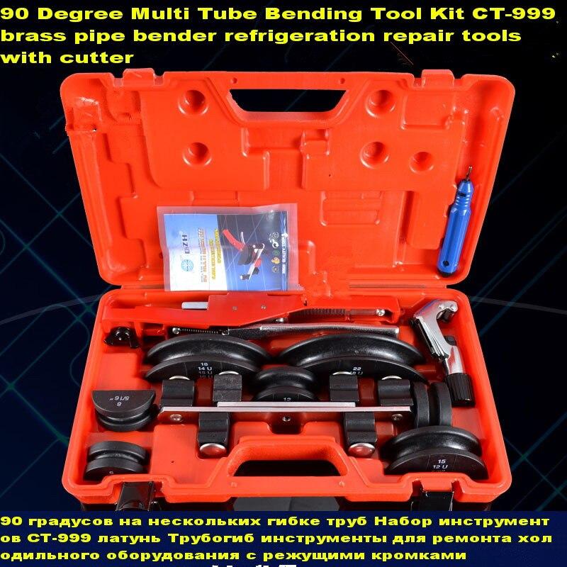 o envio gratuito de multi kit de ferramentas de dobra do tubo de 90 graus ct