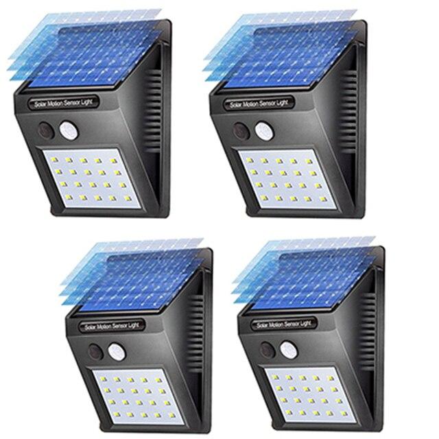 sanxu waterdichte zonne energie energie zonne verlichting led lamp met bewegingssensor licht lamp panel