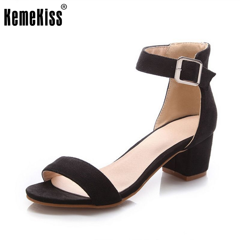 Women High Heel Sandals Women Open Peep Toe Shoes Womens Lady Suede Leather High Quality Fashion Brand Shoes Size 34-43 PA00633 цены онлайн