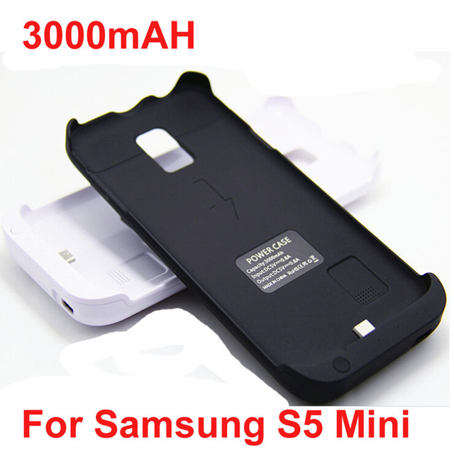 low priced aa13d aedfa US $22.98 |Newest 3000mAh galaxy S5 mini Backup battery case for Samsung  galaxy s5 mini G800 sm g800f external battery power bank case-in Battery ...