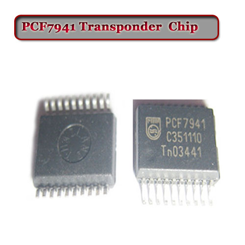Free Shipping (10pcs/Lot) Pcf7941 Transponder Chip For Car Remote Key
