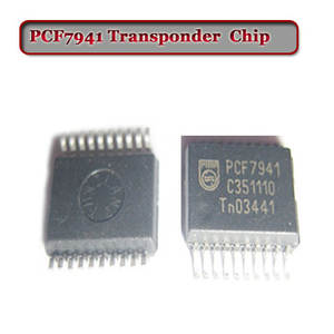 Free shipping (10pcsLot) Pcf7941 Transponder Chip For car remote key