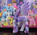 14cm Unicorn Horse Little Pony Toys Pony Princess Celestia Luna Rainbow Dash Action Figure Twilight Sparkle Rarity Model Dolls