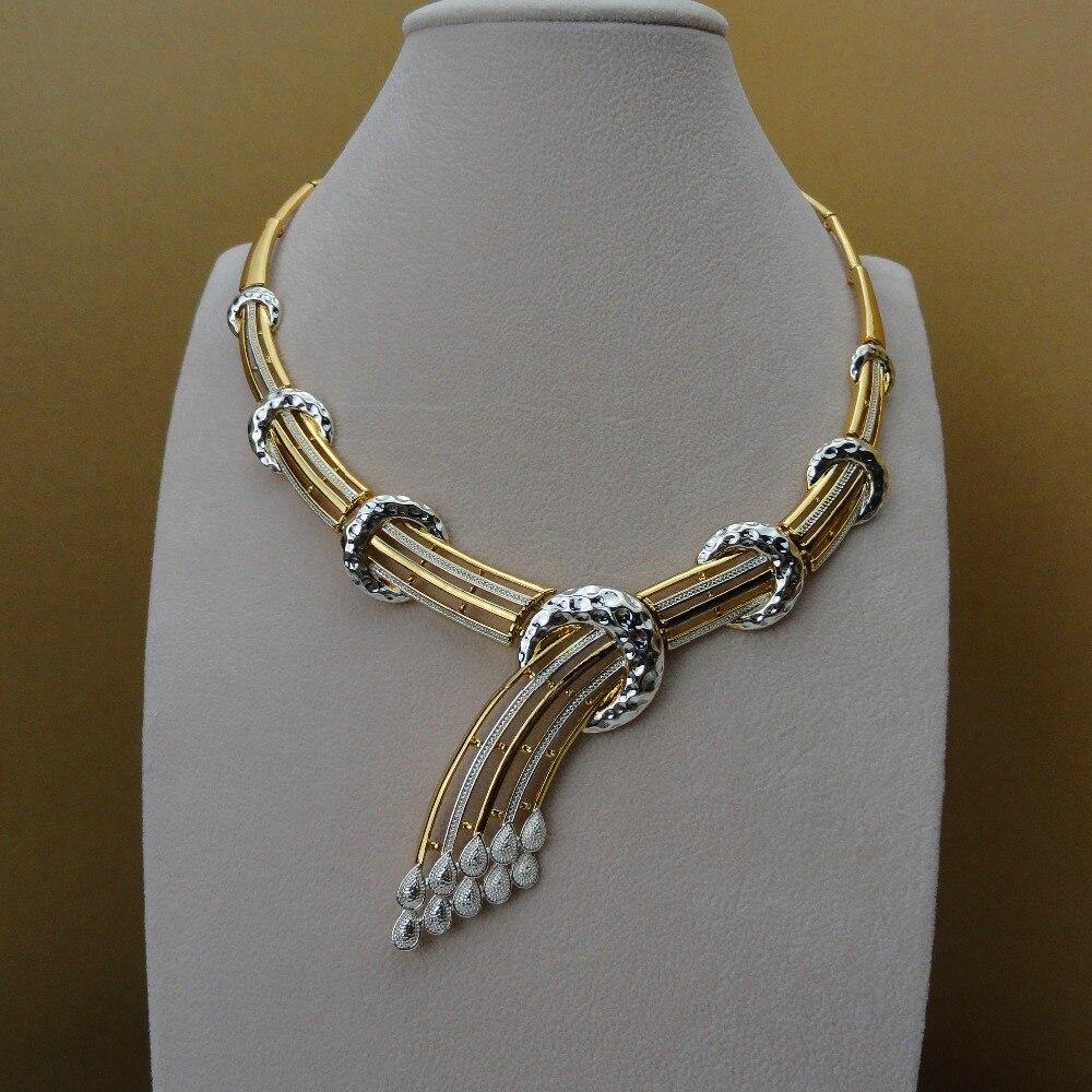 2019 Yuminglai afryki biżuteria dubaj Cosume zestawy biżuterii sztuczna biżuteria dla kobiet FHK5699 w Zestawy biżuterii od Biżuteria i akcesoria na  Grupa 2