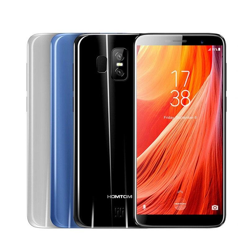 HOMTOM S7 5,5 дюймов 4 г смартфон Android 7,0 мобильный телефон 3 ГБ 32 ГБ 1,3 ГГц 4 ядра MTK6737 тройной камеры Dual SIM сотовый телефон