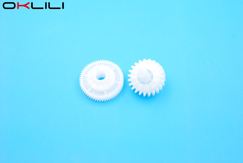 10 RU6-0018 RU6-0018-000 Fuser Drive Gear 23T/56T for HP P1505 M1120 M1522 P1505n M1522n M1120n 1505 1120 1522 for Canon LBP3250 high quality new original fuser drive gear compatible for canon ir5000 6020 5020 6000 fs7 0658 000 75t 22t gear