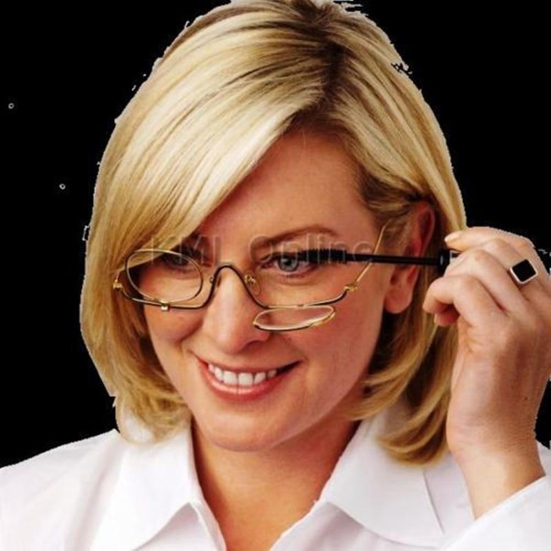 2018 merk hoge kwaliteit mode full-frame leesbril damesbril dames leesbrekende vrouwen make-up bril + 1 tot 4