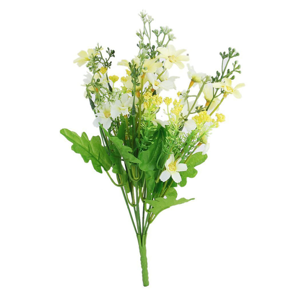 Bestoyard new bunch of artificial cineraria flower bouquet for home bestoyard new bunch of artificial cineraria flower bouquet for home office wedding party decoration in artificial dried flowers from home garden on izmirmasajfo