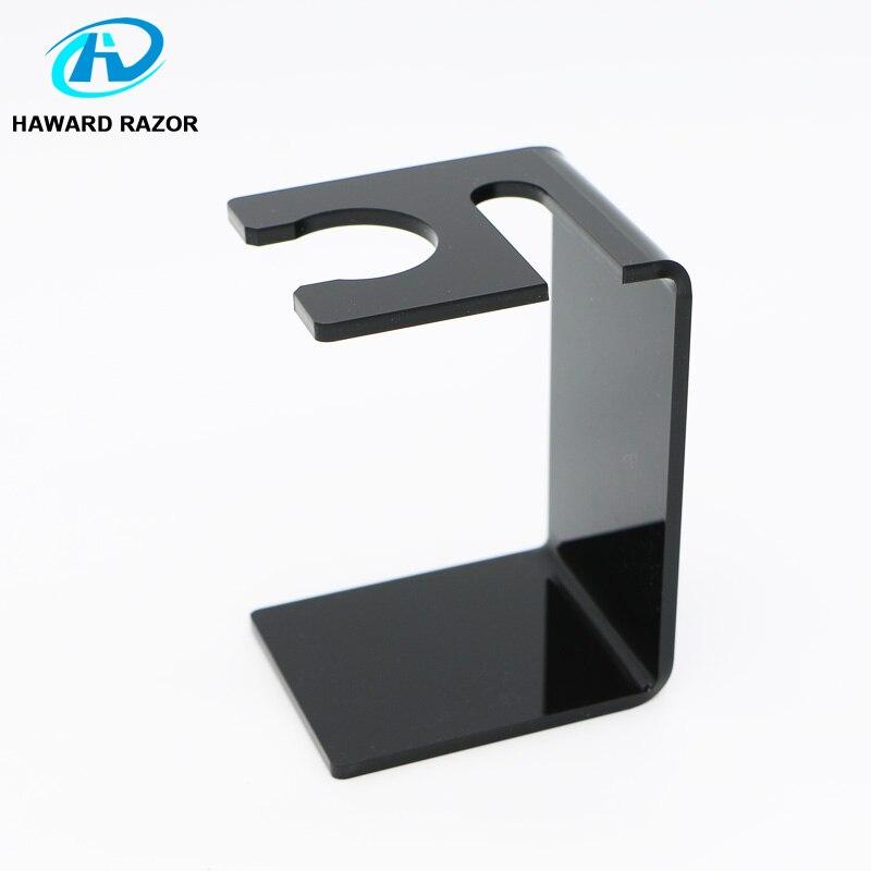 Accesorios de maquinilla de afeitar HAWARD para hombre, maquinilla de afeitar de seguridad y soporte de cepillo de afeitar, Material plástico pequeño y ligero, excelente diseño