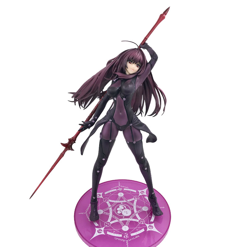 31cm Fate Stay Night Fate Grand Order Lancer Scathach PVC Action Figure Toy Brinquedos
