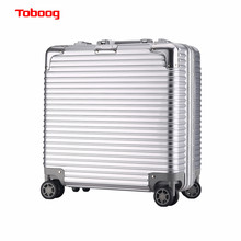 Toboog 2017 Rolling Laptop Suitcase 17 inch Business Luggage Aluminum Frame TSA Code Lock Travel Rods Boarding Computer luggage