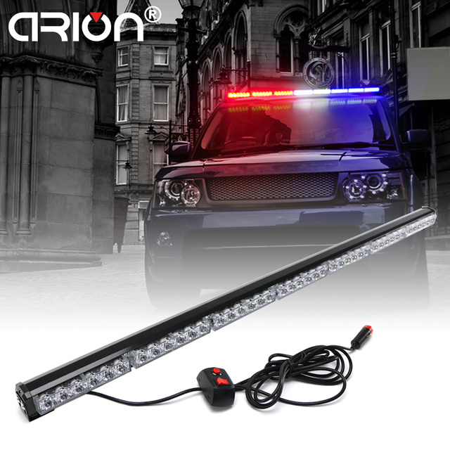 Cirion 31cm to 120cm led light bar fireman flashing police emergency cirion 31cm to 120cm led light bar fireman flashing police emergency warning fire stroboscope lights amber aloadofball Image collections