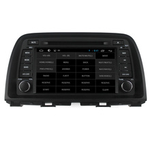 For capacitive touch screen Quad core Mazda CX-5 2013 2014 car dvd player GPS with WiFI+FM/AM Radio+Bluetooth+Multimedia+USB/SD