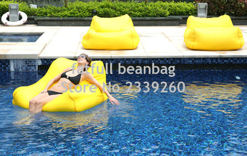 Cover Only No Filler Yellow Outdoor Joe Bean Bag Chair Theatre Gaming Waterproof 2 Seat E Cushion Furniture Sofa In Sofas From On