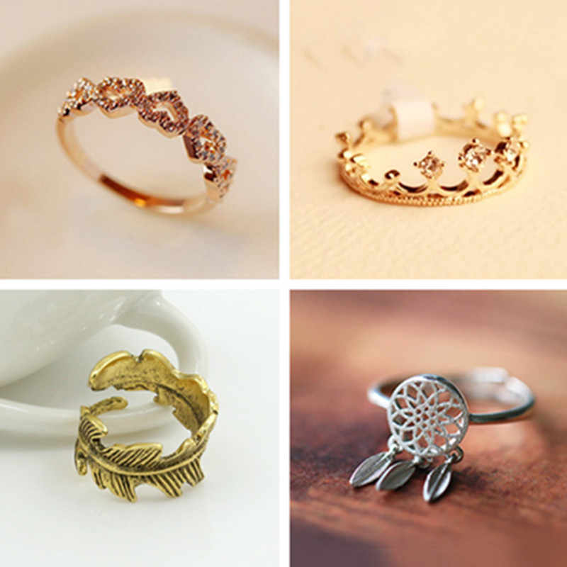 Classic Rose Wide Ring Flower Hollowing Craft Rose Gold Color Wedding Ring Fashion Party Jewelry Gifts Wholesale