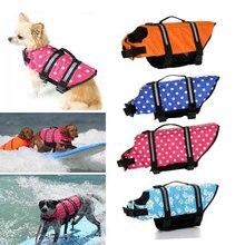 Pet Dog Save Life Jacket Clothes