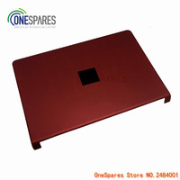 Laptop New Original For Dell For Studio 1745 1747 1749 LCD Cover A Shell AP080000420 Red