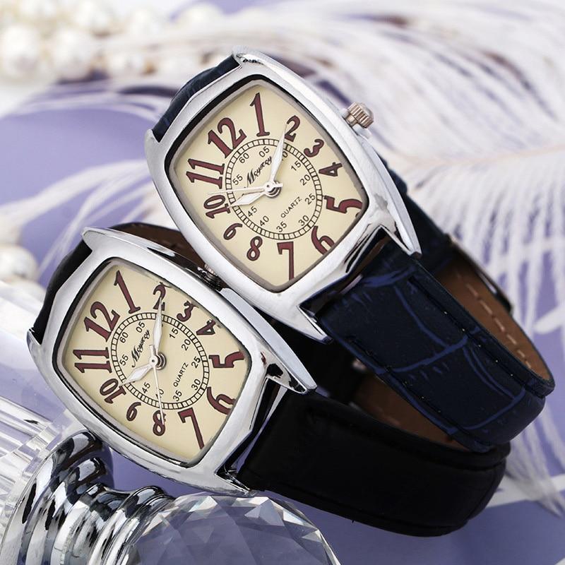 BGG Merk Vierkante Wijzerplaat Dames Horloge Rode Band Quartz Horloge - Dameshorloges - Foto 3