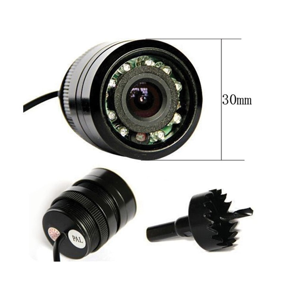 Auto Parking Assistance Vehicle Camera Wide Viewing Angle Waterproof Reversing Backup Camera IR infrared Night Rear View Camera