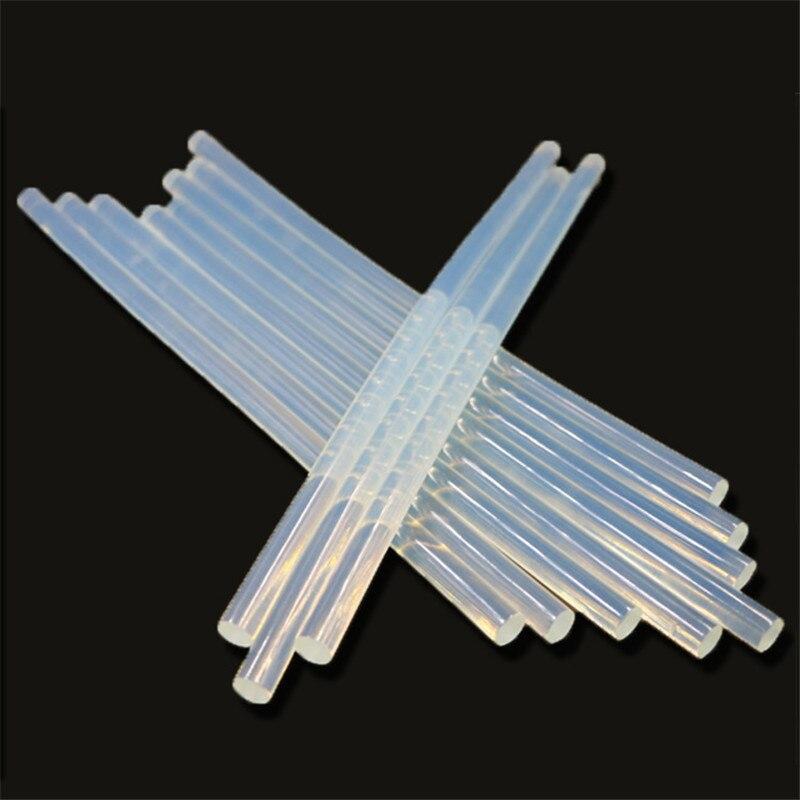 10Pcs/Sets 7mm x 229mm Hot Melt Gun Glue Sticks Plastic Transparent Sticks For Glue Gun Home Power Heat Pistol Tool Accessories|Glue Stick|   - AliExpress