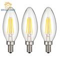 LED Bulb E14 2W/4W led lamp LED Edison Bulb 2700K-3500K Warm/Cold Light Vintage Retro simple practical LED Filament Light Bulb