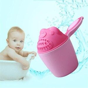 2019, детский мультяшный медведь, чашка для купания, для новорожденного, для душа, шампунь, чашка, Bailer, для детского душа, ложка для воды, для ванны, чашка для мытья, 2 цвета