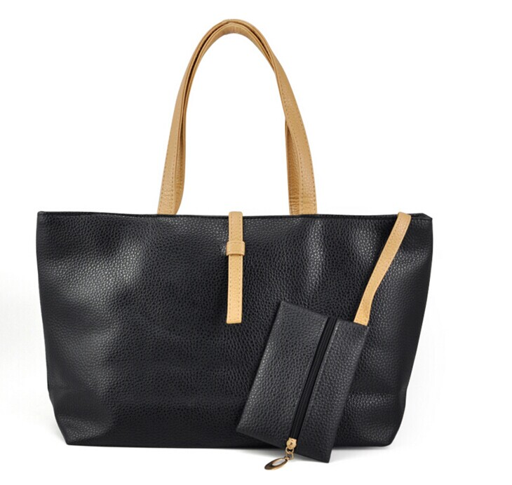 цены на TFTP women handbag large capacity tote bag PU Leather Handbags casual Women Messenger Bags Big Ladies Shoulder Bag Bolsos Mujer в интернет-магазинах