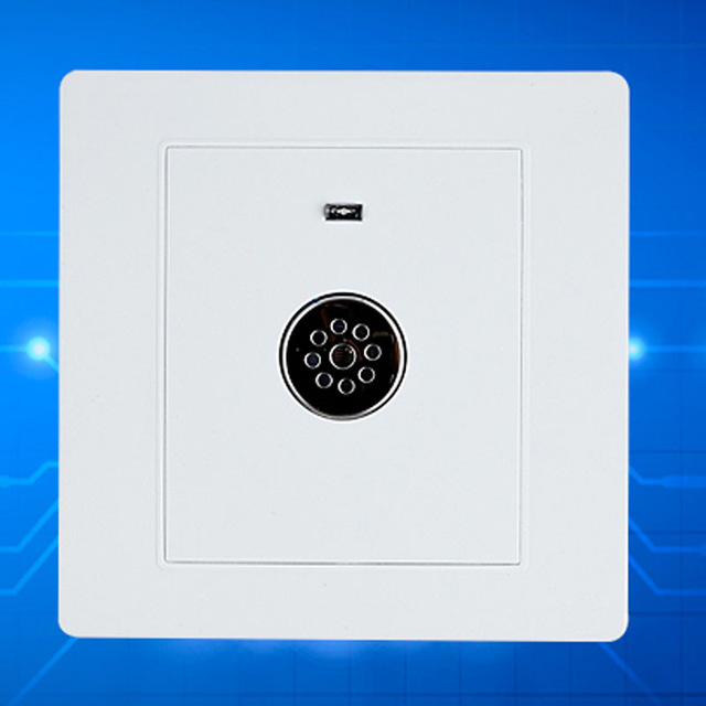 sound control Voice control switch floor delay induction switch 86 voice activated light switch smart panel voice control switch two wire system wall mount sound activated and light snesor switch with 30s time delay ac 110 250v