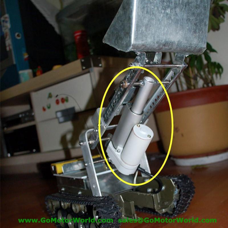 Водонепроницаемый ip65 12 в 100 мм 4 дюйма регулируемый ход 900n 198 фунтов нагрузка 6 мм/сек. Скорость мини промышленности Сверхмощный линейный привод la10