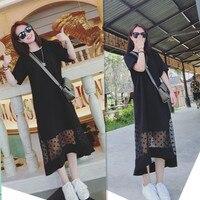 Soonyour Summer Wear New Arrival Women Vintage Dress Polka Dot Elegant Party Short Sleeves Black