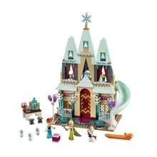 лучшая цена Creative 316 Pcs Snow Queen Princess Anna Elsa Ice Castle Building Blocks Building Blocks Children's Educational Toys Gifts