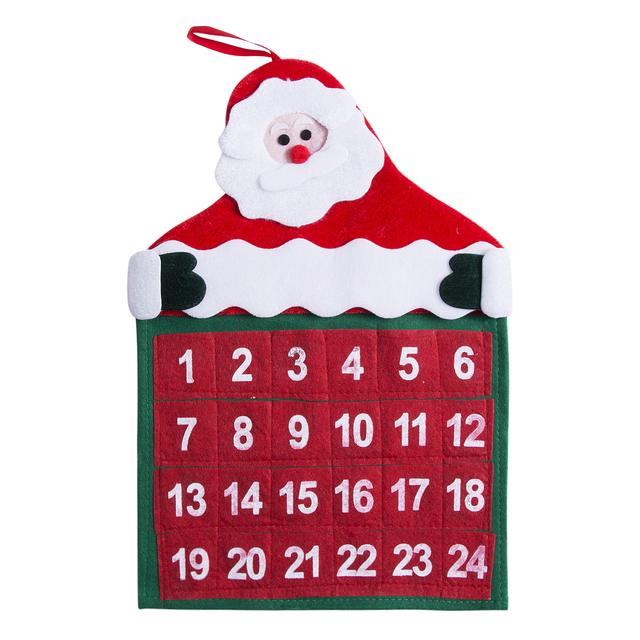 new christmas countdown advent calendar number sticker xmas craft
