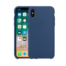 2018 New Liquid Silicone Phone Case For Iphone X Cover Protective Apple Case Microfiber Fashion Luxury Soft Case For iphone X