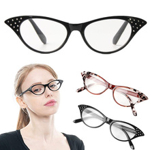 Cat Eye Reading Glasses Women Men Lightweight Presbyopic 1.0 2.0  3.0 4.0 Presbyopia Eyewear