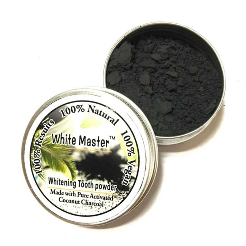 18g Teeth Whitening Powder Natural Pure Coconut Organic Activated Charcoal  Teeth Whitening Bamboo Toothpaste clareamento dental